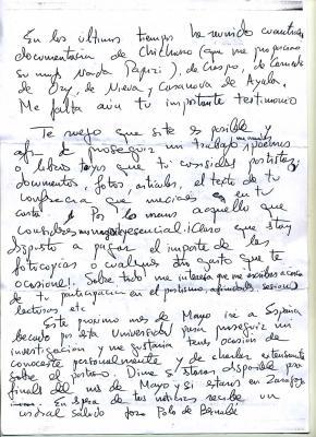 Carta de José Polo de Bernabé, University At Albany (31-1-1977) y II