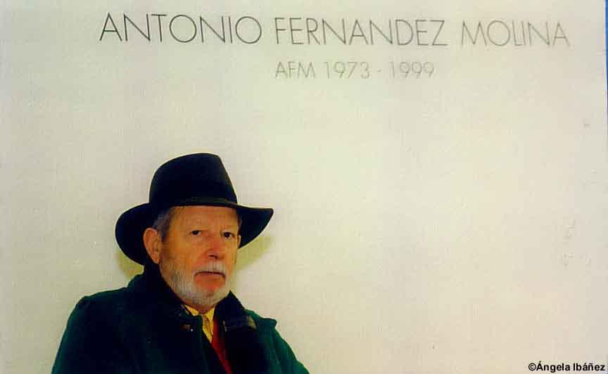 Presentación de Breve Antología Poética de Antonio Fernández Molina