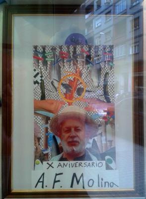 Homenaje a Antonio Fernández Molina en Espacio Ralo