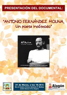 El recuerdo del poeta A.F. Molina regresa en 25 entrevistas
