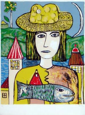 Color en la muestra de Fernández Molina