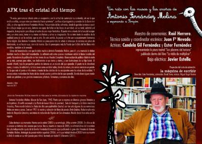 Homenaje a Antonio Fernández Molina