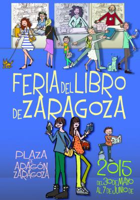 Antonio Fernández Molina en la Feria del libro de Zaragoza